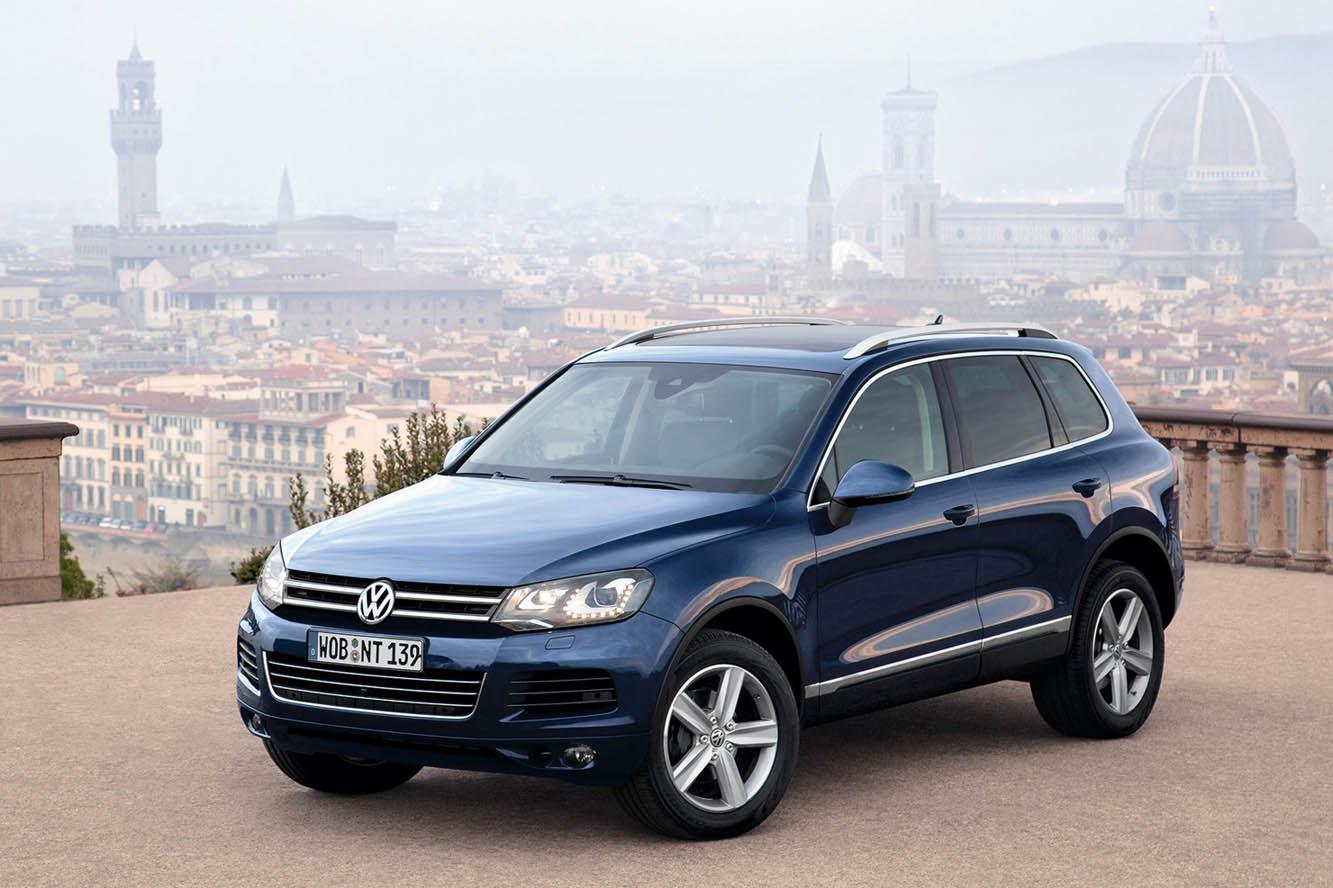 В РФ продали 1-ый VW Touareg обновленного поколения