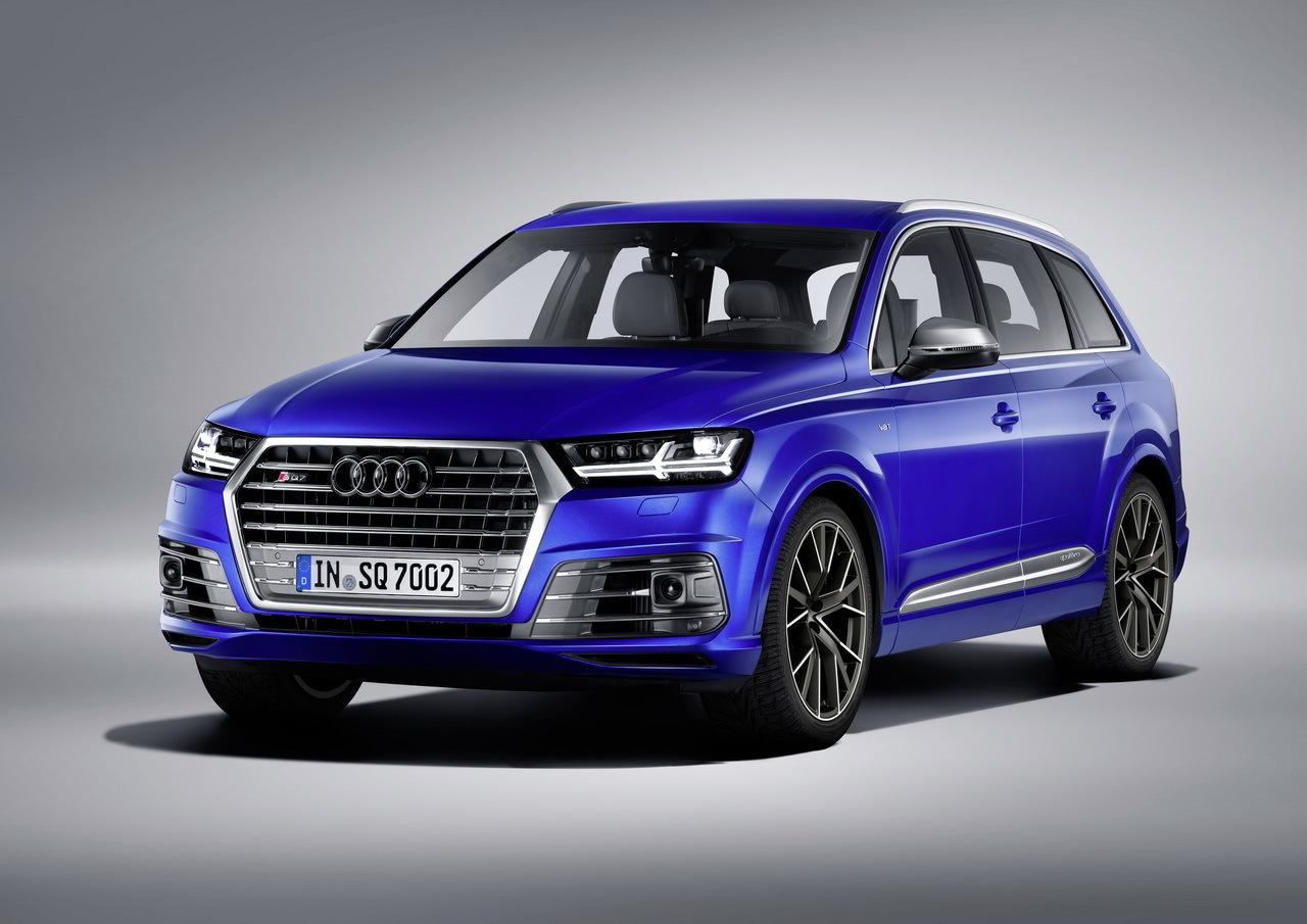 Audi назвала стоимость SQ7 TDi для Европы