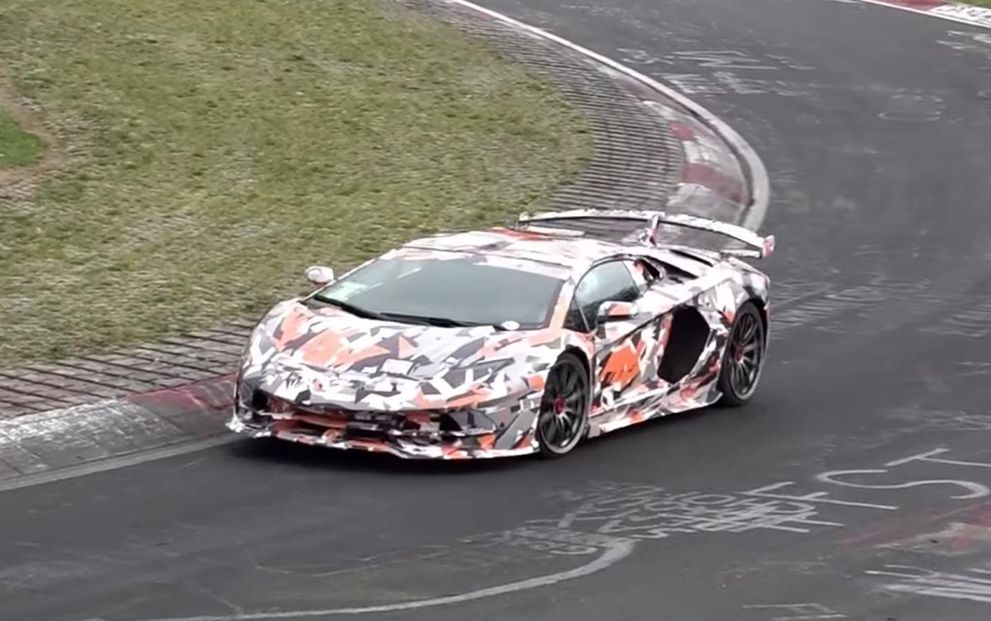 Новый Lamborghini Aventador SVJ показали
