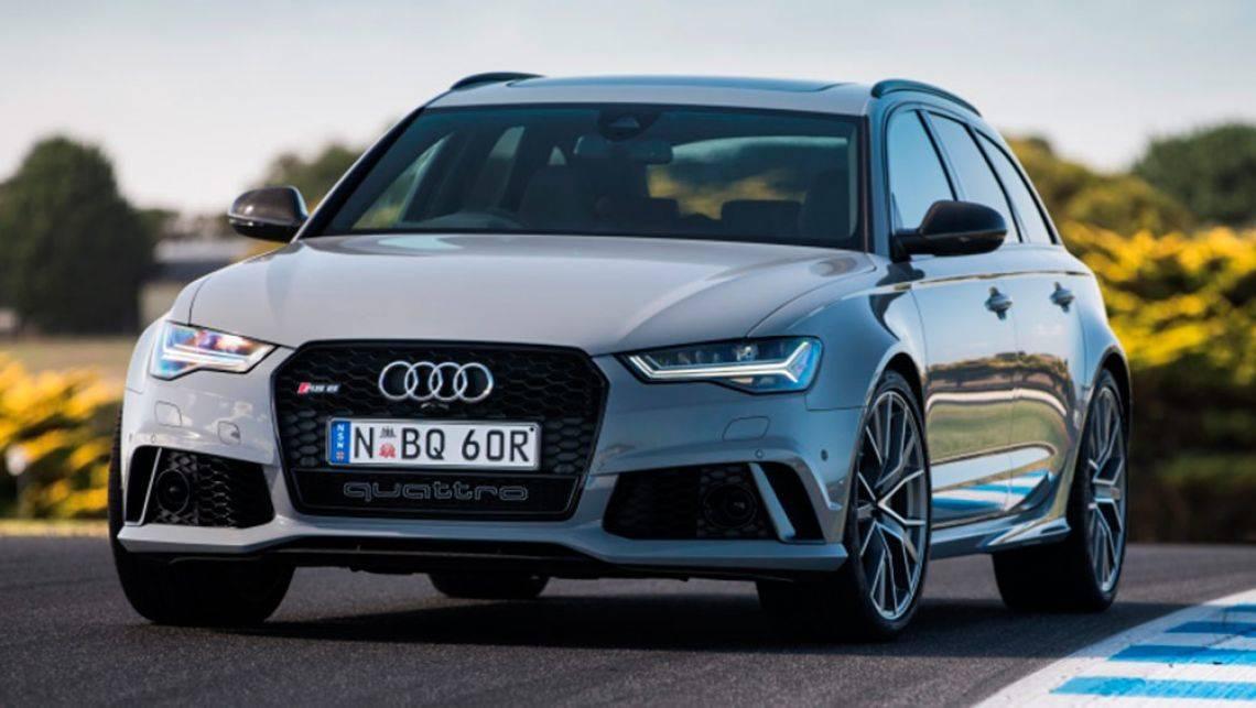 Audi RS6 нового поколения оснастят 600-сильным мотором