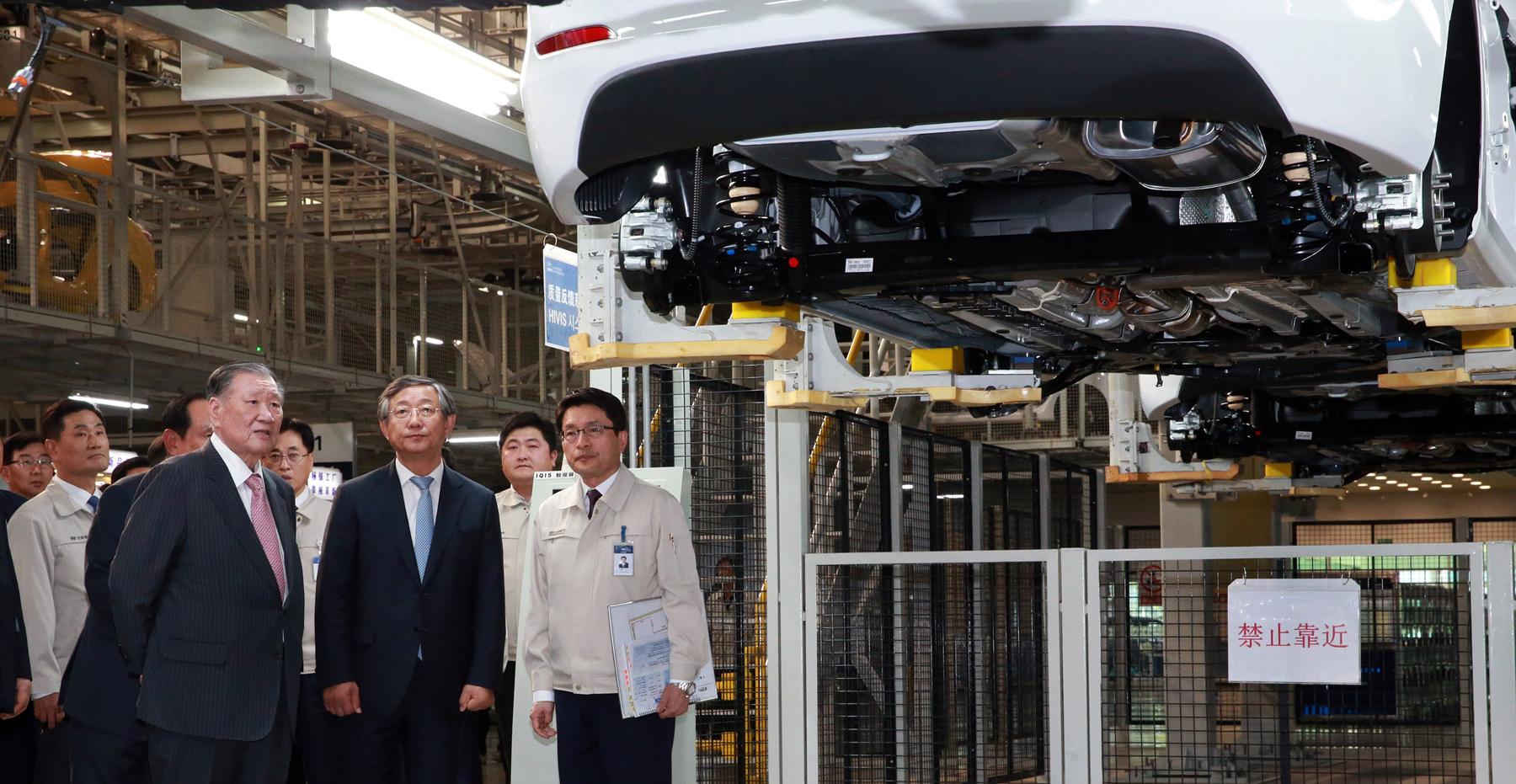 Хюндай открывает новый завод вКитайской республике