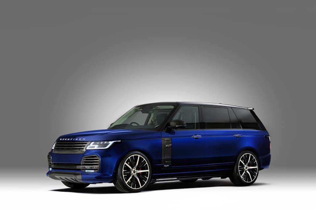 Джип Range Rover 2019 модельного года доедет до РФ кавгусту
