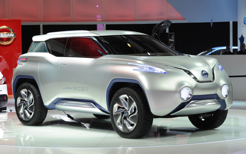 Nissan построит электрокроссовер наплатформе Nissan Leaf class=
