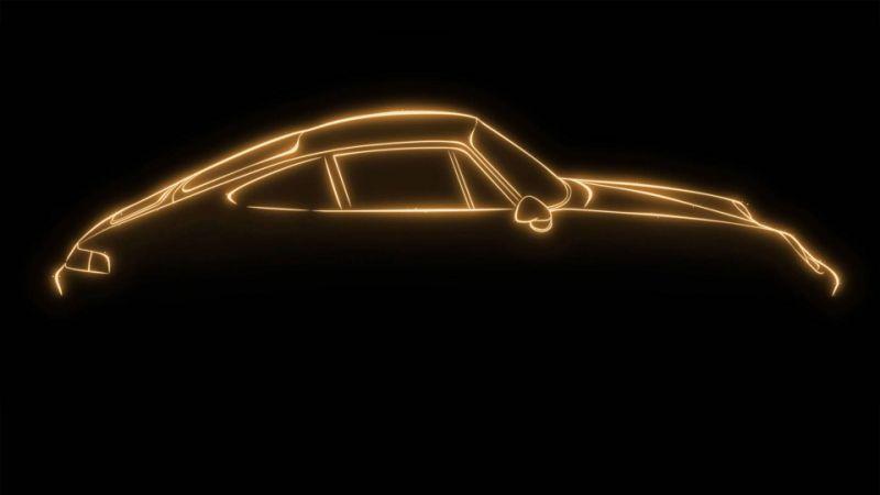Порш продемонстрировал салон эксклюзивного спорткара Project Gold