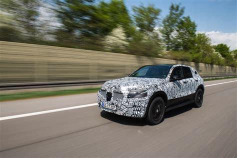Испытания EQ от Mercedes появились на видео