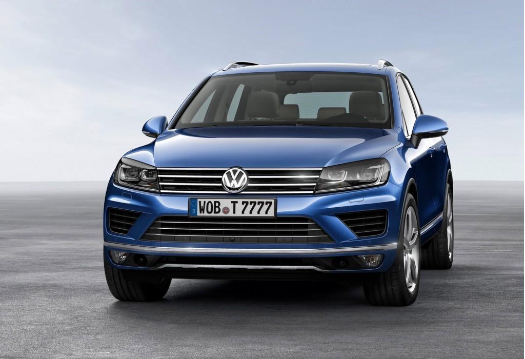 Volkswagen Touareg получил спецверсию для России