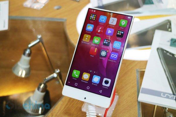 Компания Umi Digi выпустит безрамочный смартфон с батареей емкостью 6000 мАч