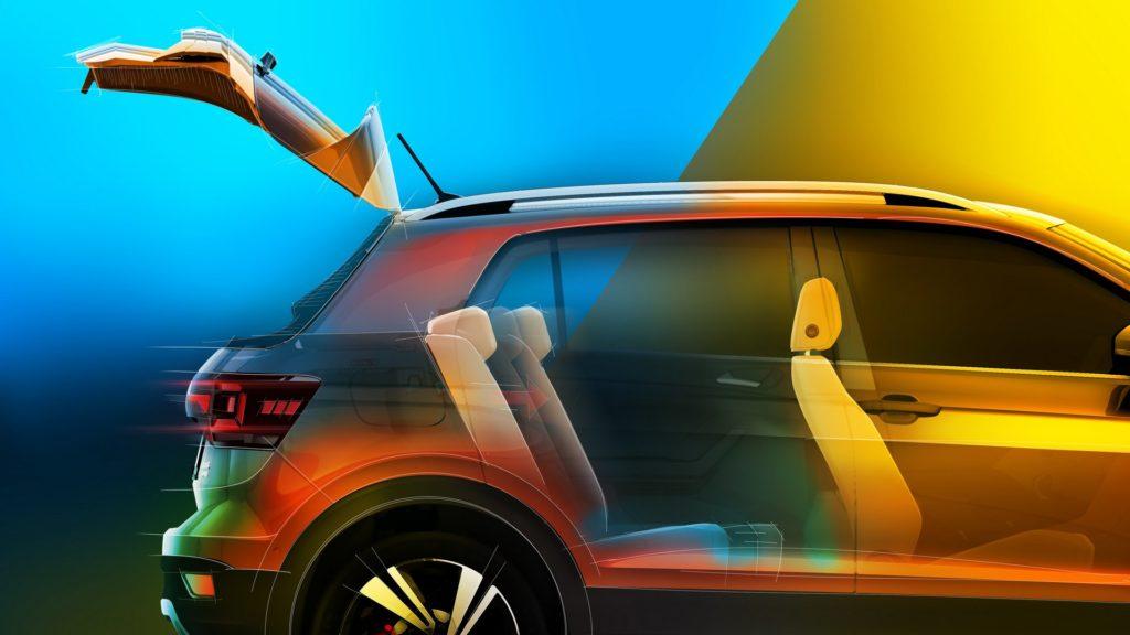 VW поведала осалоне нового кроссовера Фольксваген T-Cross