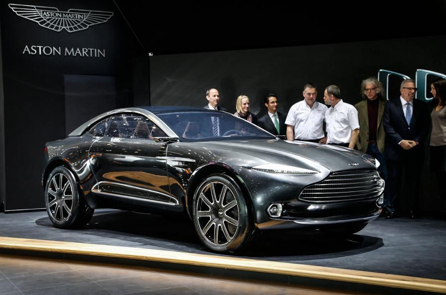 Кроссовер Aston Martin DBX будет выпущен в гибридной и электрической модификациях