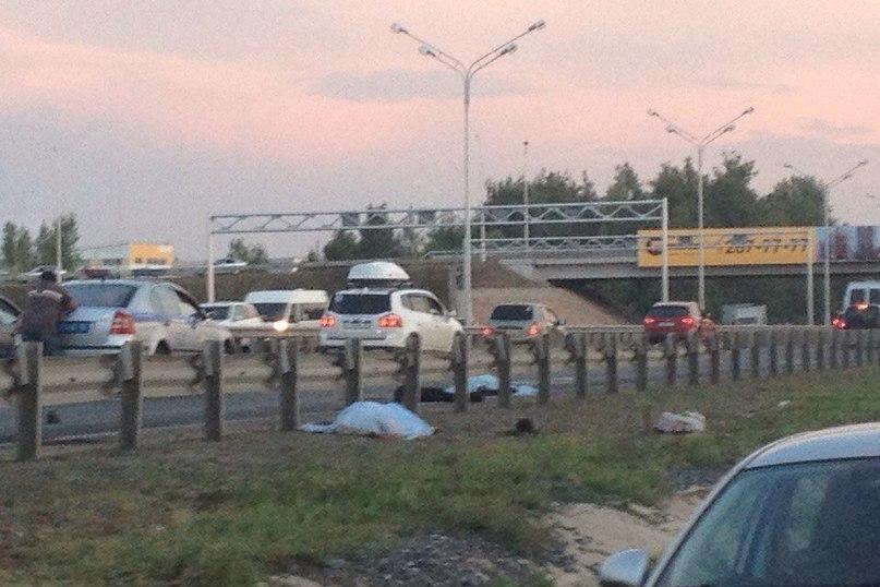 Самосвал насмерть сбил 2-х пешеходов вУфе