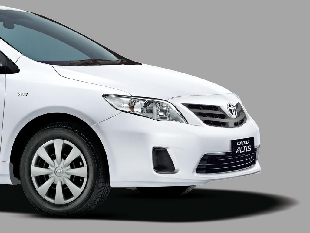 Представлена особенная  версия седана Тоёта  Corolla Altis