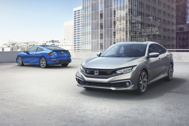 Хонда обновляет Civic к2019 модельному году