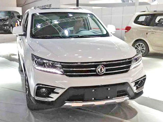 Представители Dongfeng начали прием заказов нановый кроссовер Forthing T5