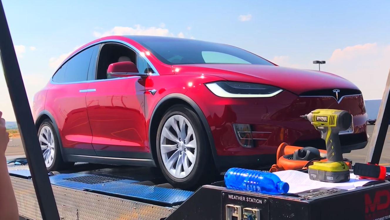 Возможности мотора кроссовера Tesla Model Xпроверили настенде