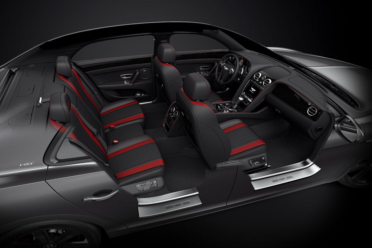 Bentley Flying Spur V8 S Black Edition появился на российском рынке