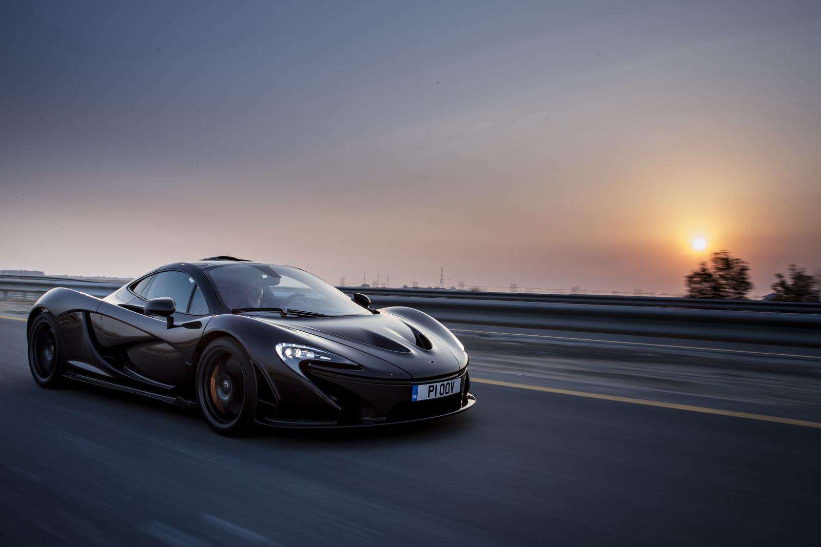 McLaren создаст первый в мире электрический гиперкар