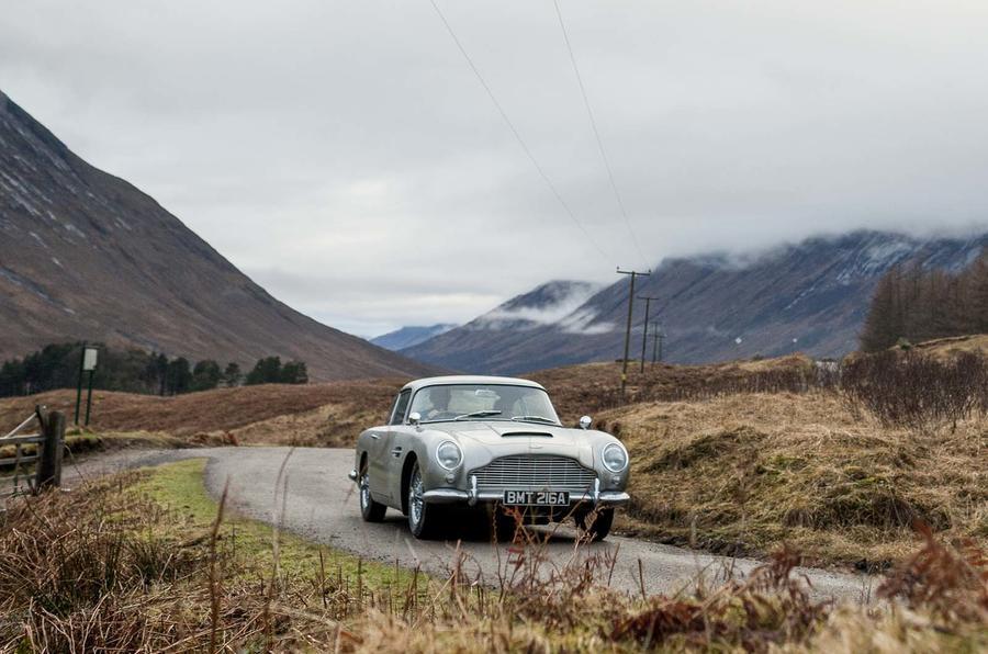 Aston Martin выпустит 25 экземпляров спорткара Джеймса Бонда