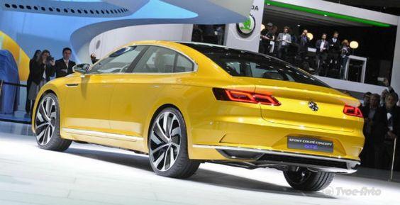 Новый VW PassatCC рассекретили всети интернет