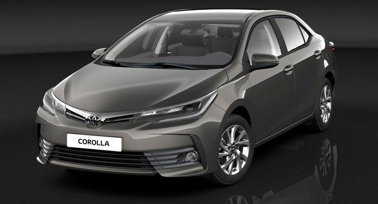 Начались продажи улучшенного седана Тойота Corolla