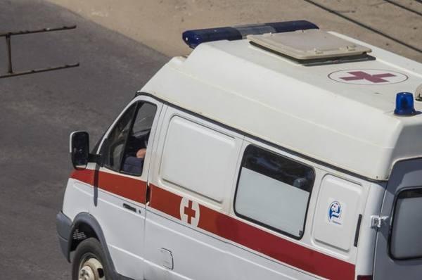 Мотоциклист протаранил пассажирский автобус вАнгарске
