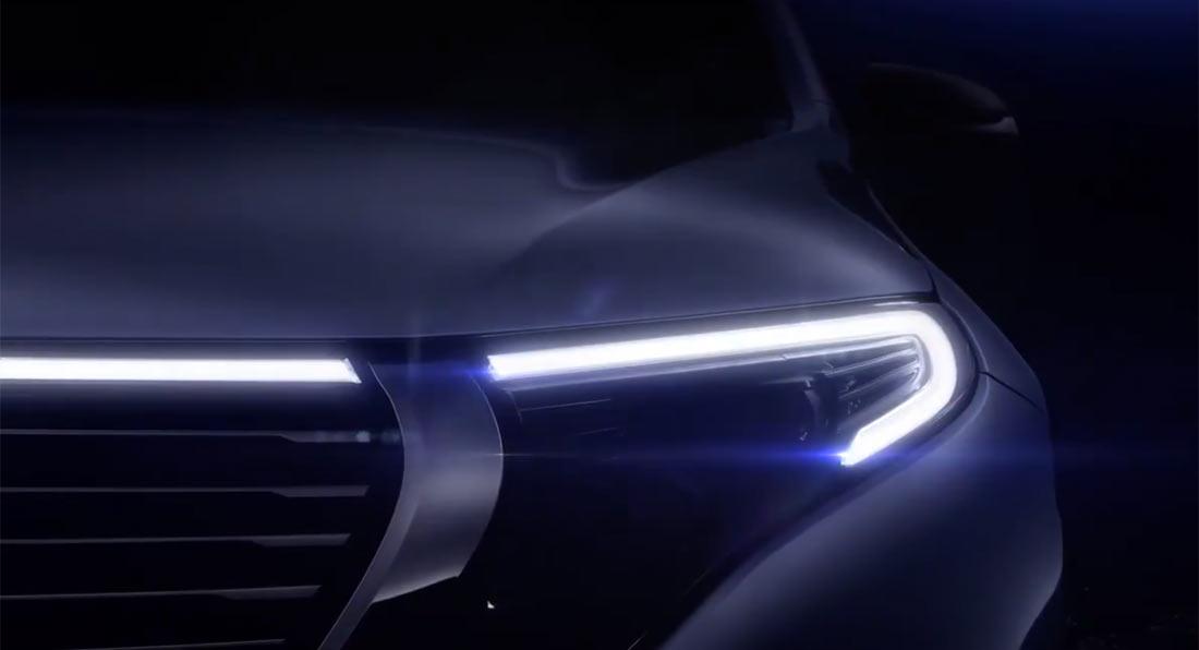 Концерн Daimler анонсировал премьеру электрокроссовера Mercedes Benz EQC