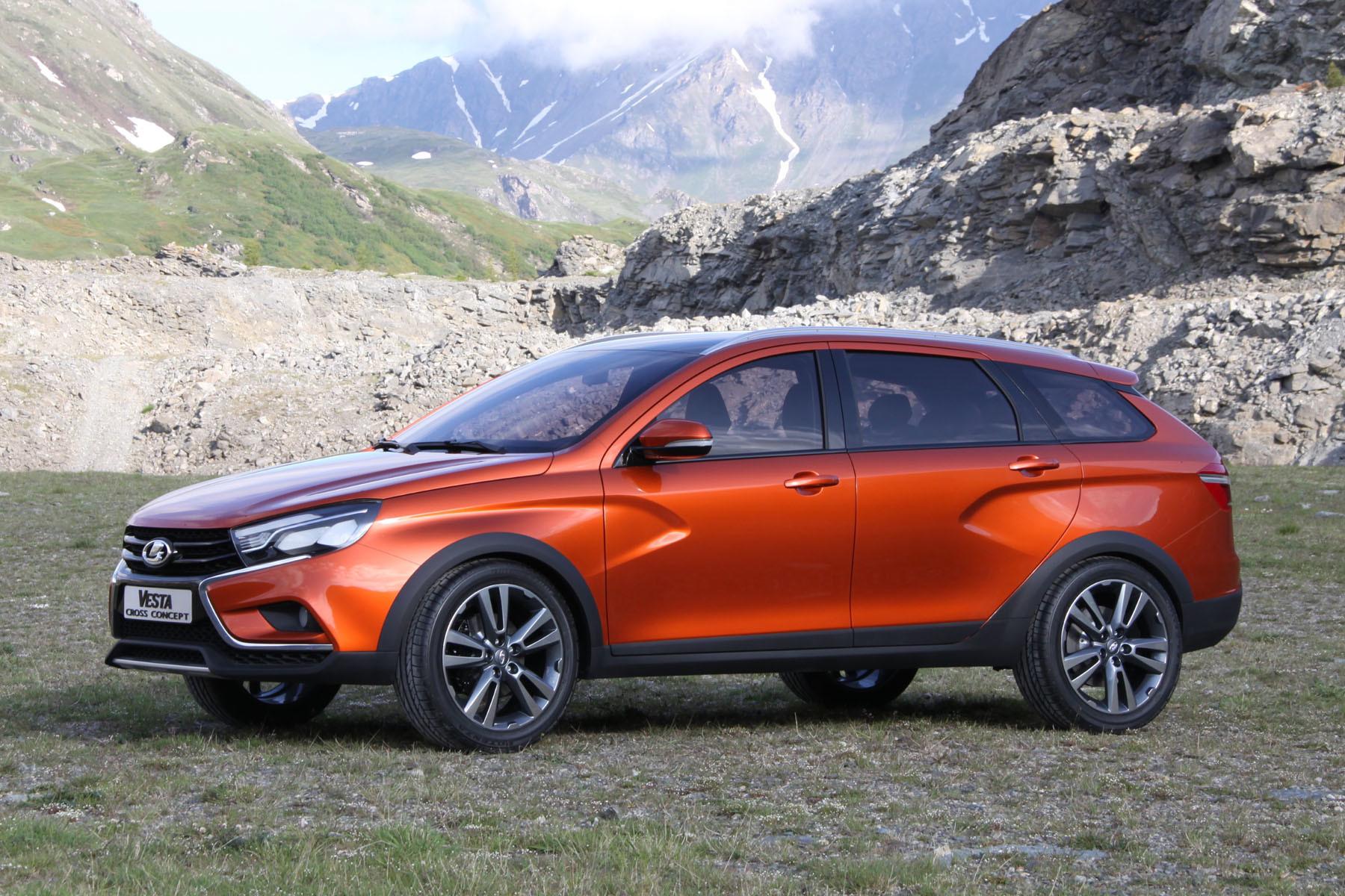 «АвтоВАЗ» продемонстрировал «спортивные» концепты Vesta иXray