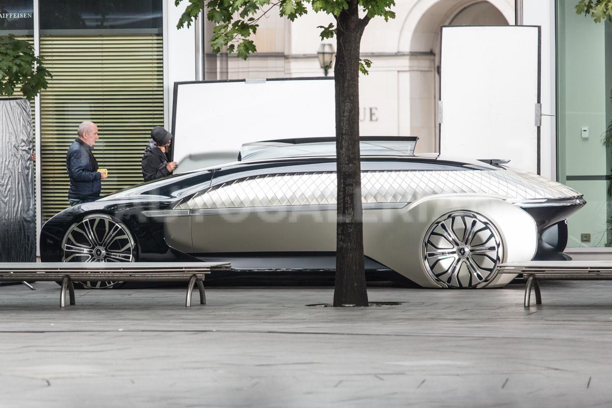 В Варшаве был замечен необычный прототип Renault