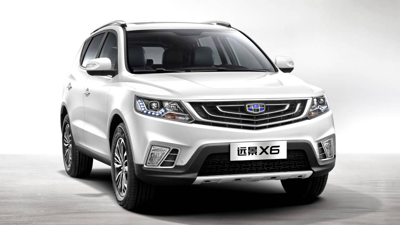 Автомобиль Geely Vision SUV уже можно приобрести в КНР