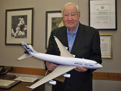 ВСША скончался создатель Boeing-747 Джо Саттер