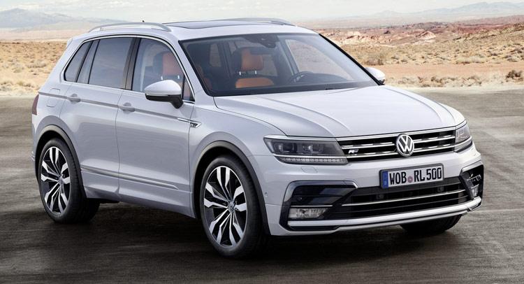 В РФ будут доступны 2 поколения VW Tiguan