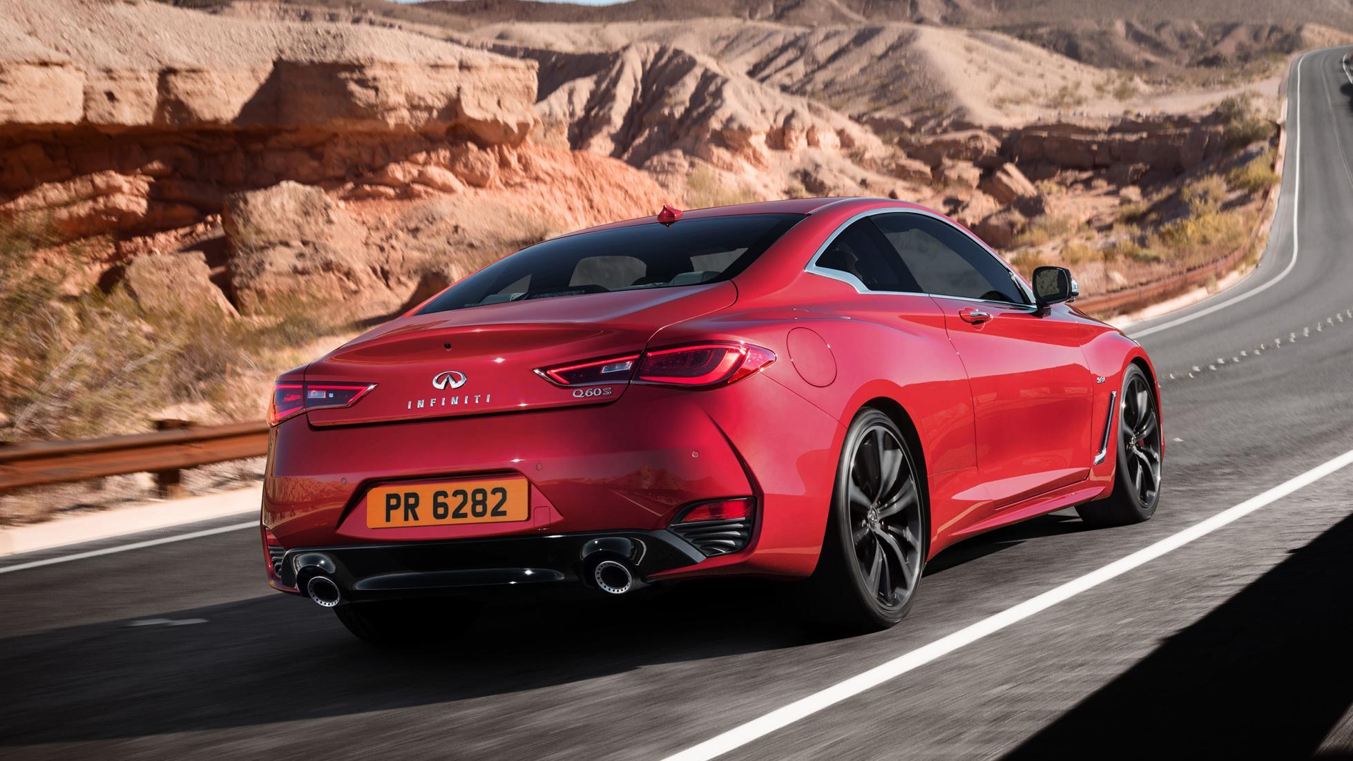 В Англии стартуют продажи купе Инфинити Q60 Coupe 2017