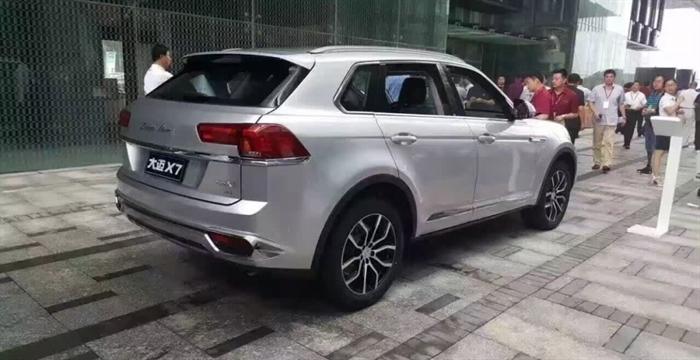 ВКитайской республике стартуют продажи двойника Volkswagen- Zotye Damai X7 SUV