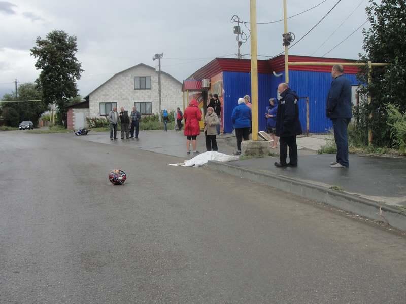 ВСызрани мотоциклист наехал наопору газопровода искончался от приобретенных травм