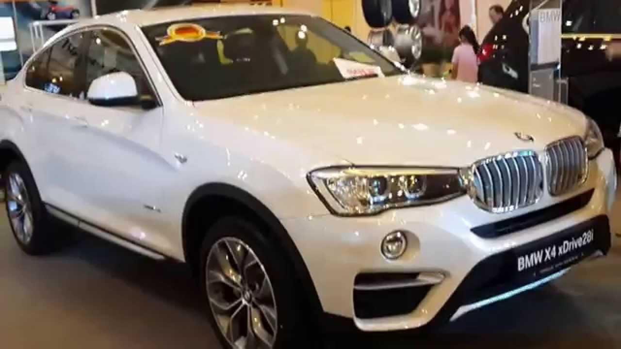 Началось производство модели BMW X4 xDrive28i X Line в Бразилии