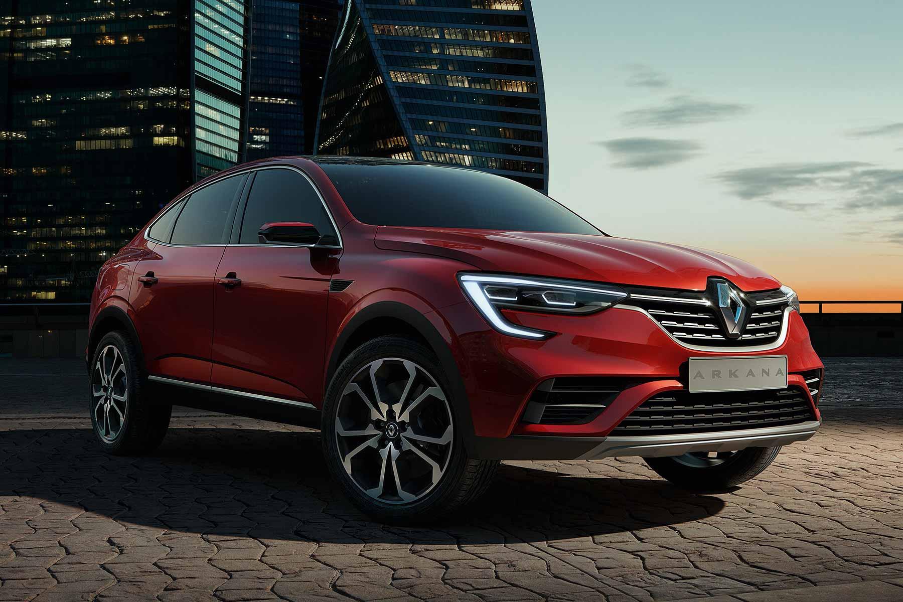 Уровень локализации кроссовера Renault Arkana составит 66