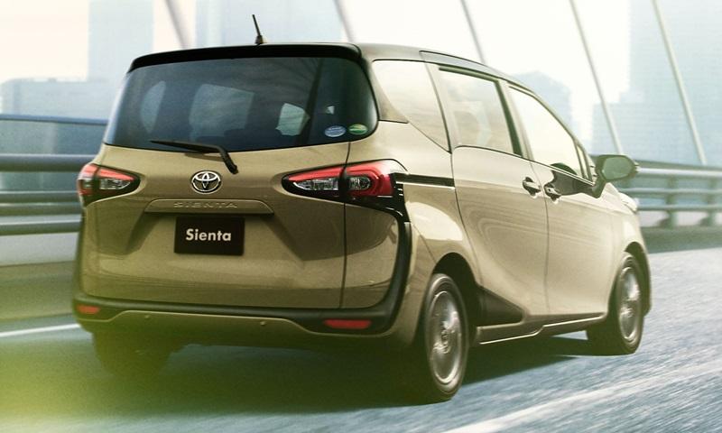 Обновленный компактвэн Toyota Sienta появился на японском рынке
