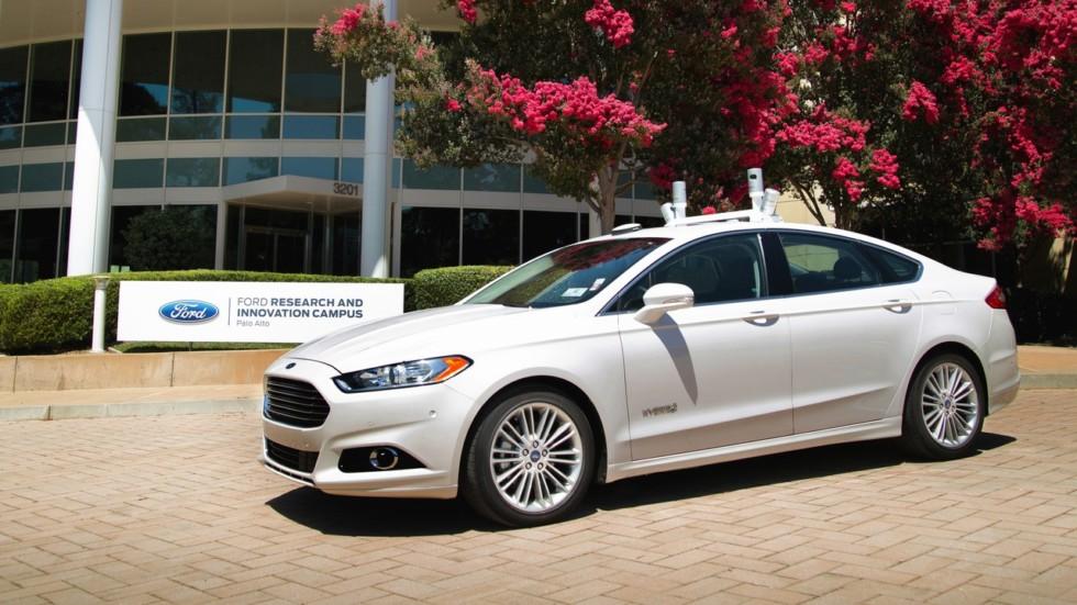 Выпуск беспилотных авто компании Форд начнётся втечении этого года