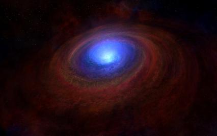 Ученые узнали, что окружает черные дыры