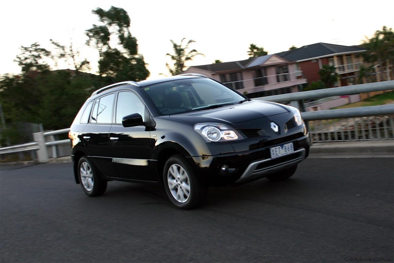 В России начались продажи дизельного Renault Koleos