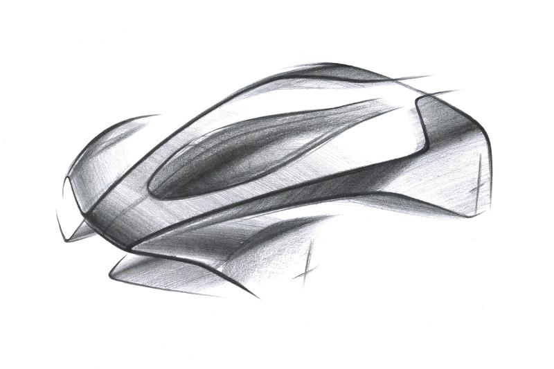 Астон Мартин анонсировал очередной гибридный суперкар сосверхлегкой архитектурой
