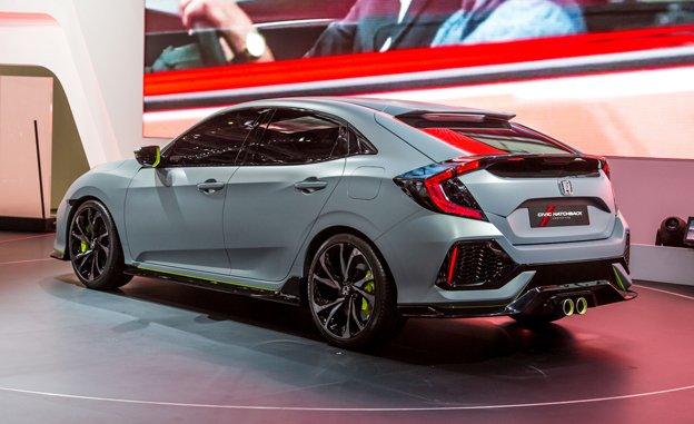 В Великобритании стартует реализация хэтчбека Honda Civic 2017