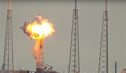 Профессионалы SpaceX назвали причину взрыва ракеты-носителя Falcon 9