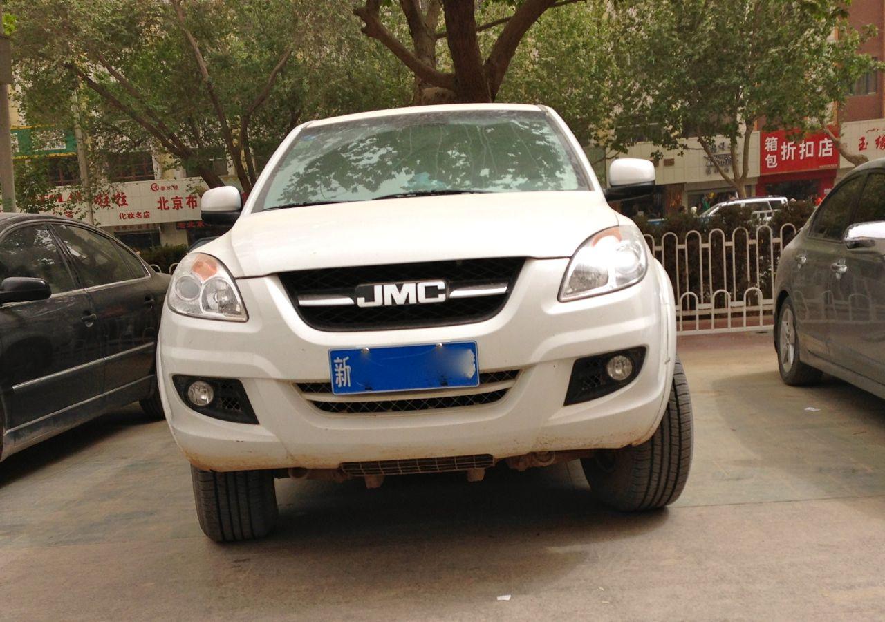 Всередине осени стартуют продажи нового пикапа JMC Yuhu