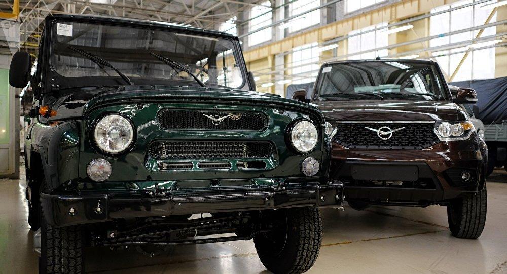 УАЗ начал поставлять автомобили в Мексику