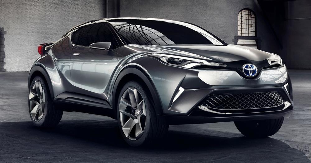 Toyota рассказала о спецификациях кроссовера C-HR для