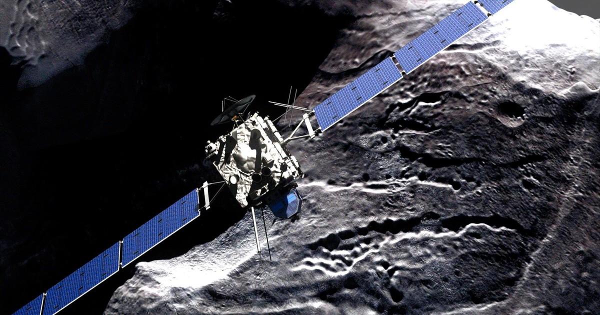 NASA покажет впрямом эфире столкновение «Розетты» скометой Чурюмова— Герасименко