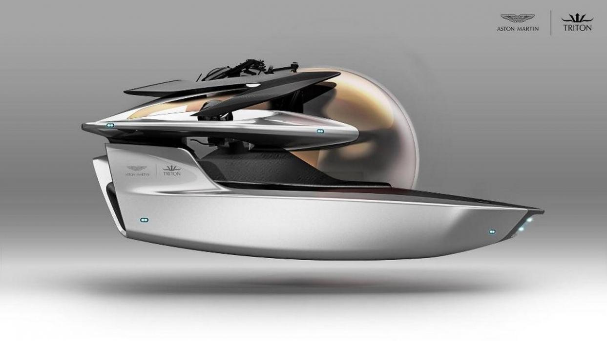 Астон Мартин создал подводную лодку Neptune