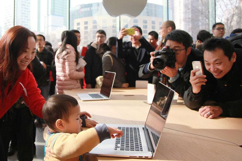 Apple открывает собственный центр вКитайской республике