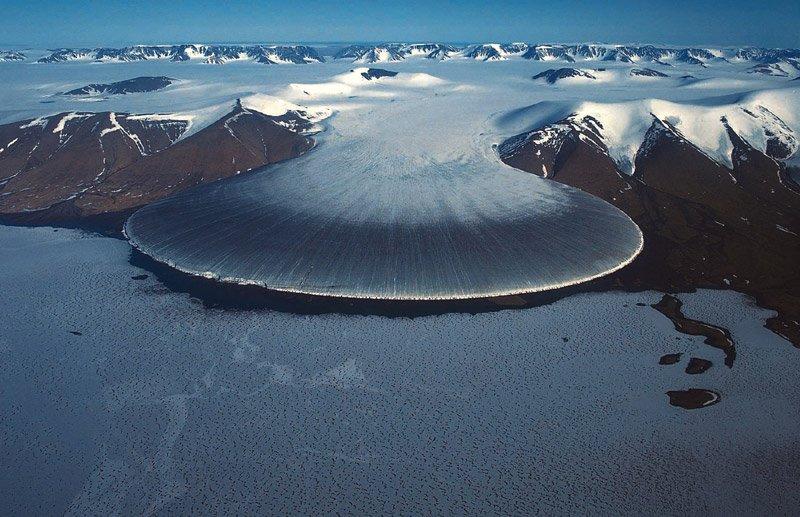 К середине столетия на Земле произойдет новый ледниковый период
