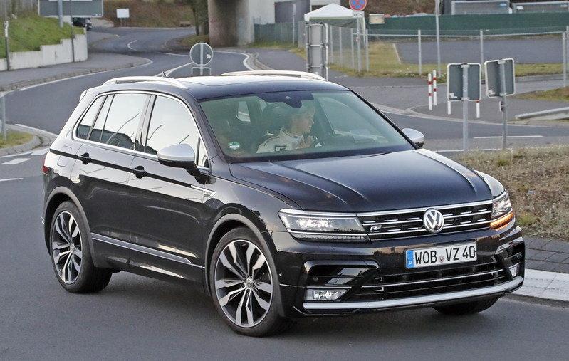 Вовремя тест-драйва VW Tiguan 2018 выявлены неполадки вработе мотора